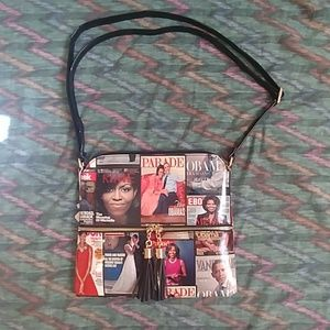 Purse adjustable holding strap